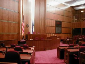 North Dakota Senate Chamber