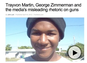 Fox News/Trayvon Martin