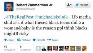 Zimmerman Tweet