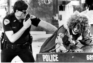 busted clown