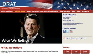 Reagan:Brat Site