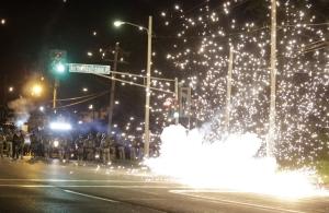 Stun Grenade in Ferguson
